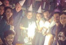 kareena kapoor khan birthday celebration