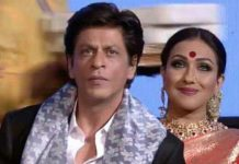 rituparna sengupta and shah rukh khan
