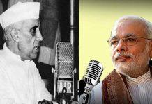 Nehru and Modi