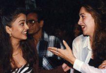 karishma kapoor and aishwarya rai bachchan