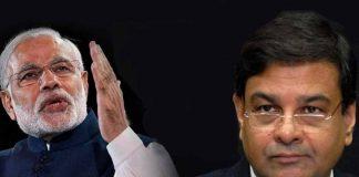 Narendra Modi and Urjit Patel