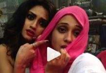 nusrat jahan and mimi chakraborty