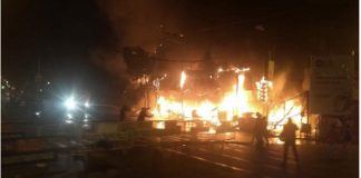 fire in gariahat
