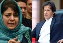 Imran Khan And Mehbooba Mufti
