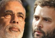 Rahul-Gandhi and Narendra Modi