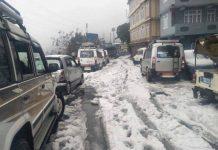 darjeeling snowfall