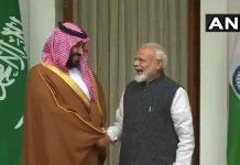 narendra modi mohammad bin salman