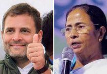 Mamata Banerjee and Rahul Gandhi