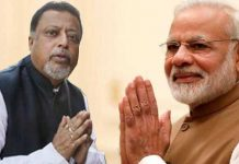 Mukul Roy and Narendra Modi