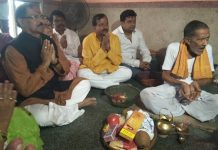 subrata mukherjee offering puja