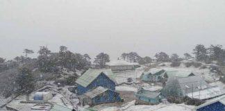 sandakphu snowfall