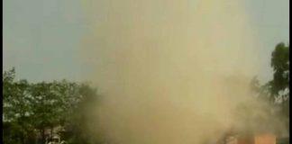tornado type storm
