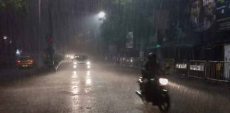 rains due to fani in kolkata