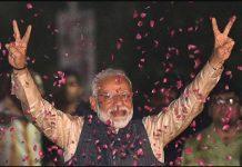 narendra modi wins