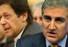 Imran Khan and shah mahmood qureshi