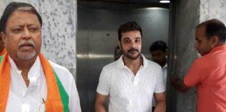 Mukul Roy and Prasenjit Chatterjee