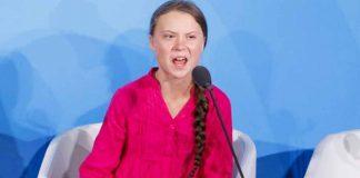 Greta Thunberg in UN climate summit