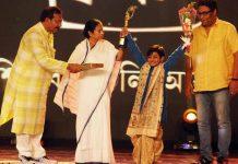 aranya gets best child actor award