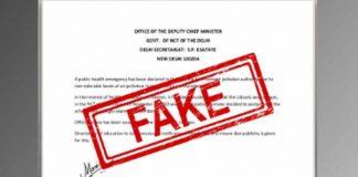 Fake Notice