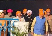 prime minister at dera baba nanak