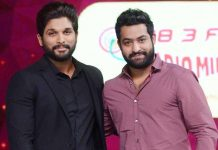 Allu Arjun and Jr NTR