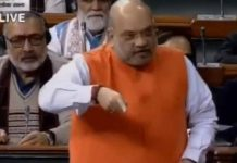 amit shah placing the cab