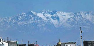 Dhauladhar from jalandhar