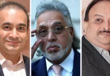 Vijay Mallya, Nirav Modi, Mehul Choksi